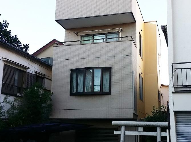 東京都足立区戸建住宅の外壁塗装・防水工事の施工事例