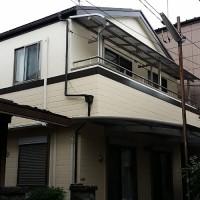 東京都葛飾区戸建住宅の外壁塗装・シール工事の施工事例