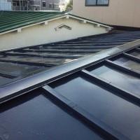 東京都大田区一般住宅の屋根塗装工事の施工事例