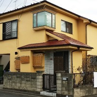 東京都東久留米市の戸建住宅の外壁塗装・屋根塗装工事の施工事例