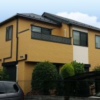 東京都荒川区戸建住宅の外壁塗装・屋根葺き替え工事の施工事例
