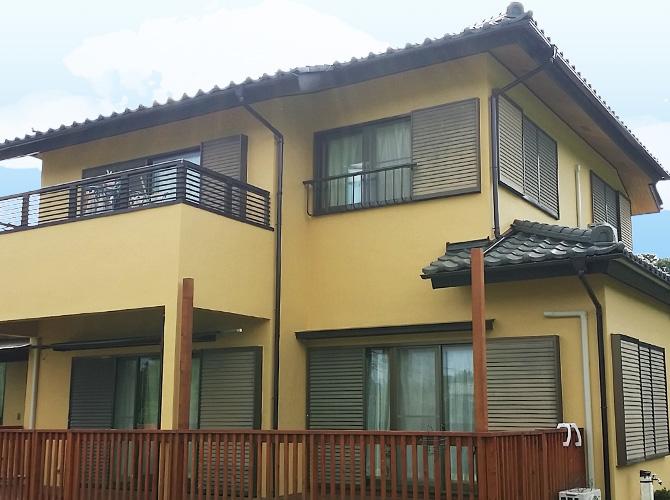 千葉県八街市戸建住宅の外壁塗装・瓦屋根の漆喰補修工事の施工事例