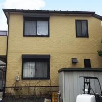 東京都葛飾区2階建住宅の外壁塗装・屋根塗装・防水工事・シール工事の施工事例