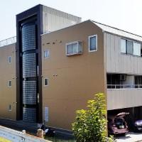 東京都葛飾区4階建マンションの外壁塗装・シール打ち替え工事・鉄部塗装工事の施工事例