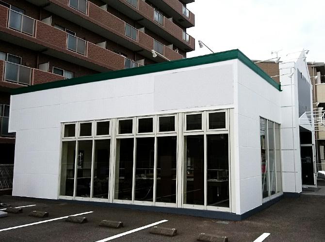 千葉県柏市路面店の外壁塗装・内部塗装工事の施工事例