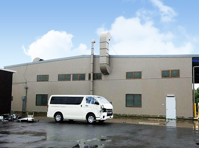 千葉県印西市工場の屋根塗装・外壁塗装工事の施工事例
