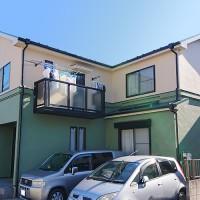 東京都葛飾区2階建住宅のナノコンポジットFを使って塗り替えた外壁塗装・屋根塗装工事の施工事例