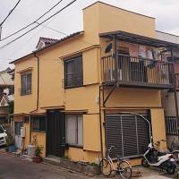 東京都足立区外壁モルタル2階建住宅の外壁塗装・屋根塗装工事の施工事例