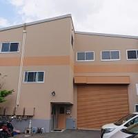 埼玉県八潮市3階建工場の外壁塗装・シール打ち替え工事の施工事例