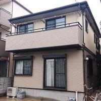 東京都足立区2階建住宅の外壁塗装・屋根塗装・付帯部塗装工事の施工事例