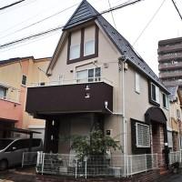 東京都足立区2階建住宅の外壁塗装・屋根カバー工法の施工事例