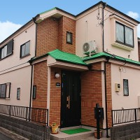 東京都足立区2階建住宅の外壁塗装・屋根塗装工事の施工事例