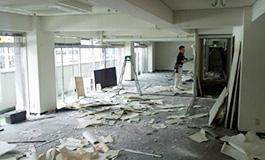 店舗の解体工事