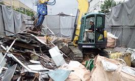 住宅の解体工事