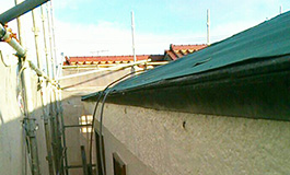 屋根の補修工事(部分補修)