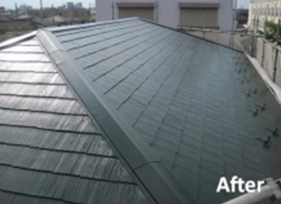 東京都足立区の屋根修理の施工後